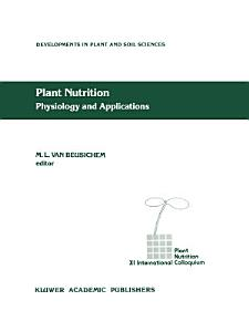 Plant Nutrition   Physiology and Applications