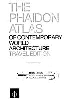The Phaidon Atlas of Contemporary World Architecture PDF