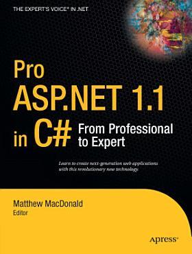 Pro ASP NET 1 1 in C  PDF