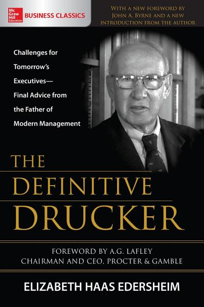 Download The Definitive Drucker Book