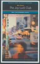 Amy Tan s The Joy Luck Club Book