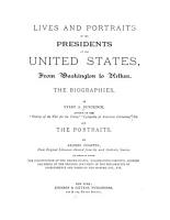 Lives and Portraits of the Presidents of the United States PDF