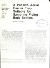 A passive aerial barrier trap suitable for sampling flying bark beetles