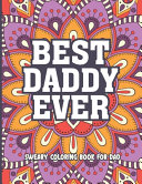 Best Daddy Evere Sweary Coloring Book For Dad