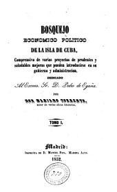 Bosquejo económico político de la isla de Cuba