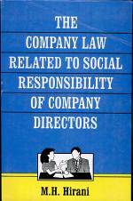The Company Law Related to Social Responsibility of Company Directors