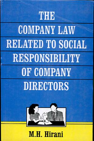 The Company Law Related to Social Responsibility of Company Directors PDF
