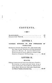 Letters to a Young Student: In the First Stage of a Liberal Education