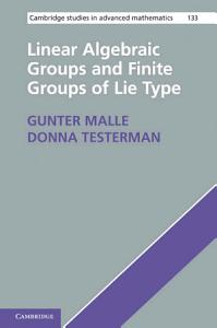Linear Algebraic Groups and Finite Groups of Lie Type PDF