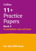 11+ Verbal Reasoning, Non-Verbal Reasoning & Maths Practice Papers Book 2 (Bumper Book with 4 Sets of Tests)