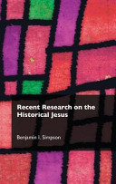 Recent Research on the Historical Jesus PDF