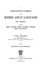 A Comparative Grammar of the Modern Aryan Languages of India0: To Wit, Hindi, Panjabi, Sindhi, Gujarati, Marathi, Oṛiya, and Bangali. ¬The noun and pronoun, Volume 2