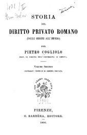 Storia del diritto privato romano: (dalle origini all'Impero)