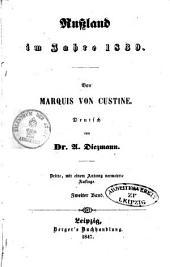Rußland im Jahre 1839: Band 2