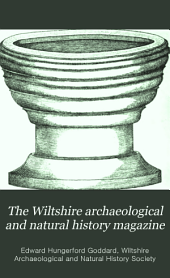 The Wiltshire Archæological and Natural History Magazine: Volume 3