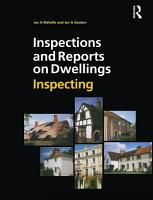 Inspections and Reports on Dwellings  Inspecting PDF