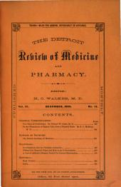 Detroit Review of Medicine and Pharmacy: Volume 4