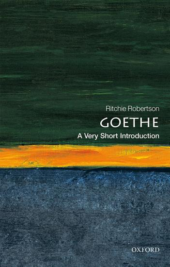 Goethe  A Very Short Introduction PDF