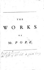 Works of Mister Alexander Pope