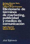 Diccionario de t  rminos de marketing  publicidad y medios de comunicaci  n PDF