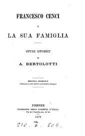 Francesco Cenci e la sua famiglia