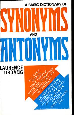 Basic Dictionary Of Synonyms And Antonyms PDF