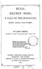Bulo; Reuben Ross; A tale of the Manacles; hymn, song, and story
