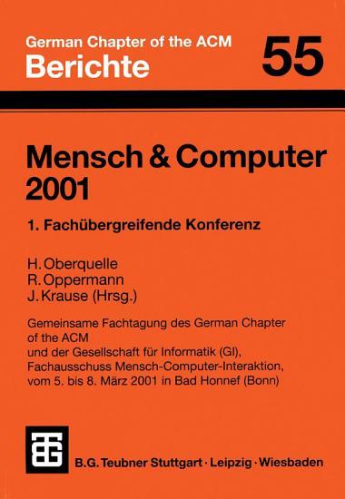 Mensch   Computer 2001 PDF