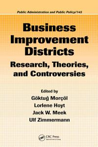 Business Improvement Districts Book