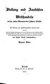 Stellung und Aussichten des Welthandels 1845