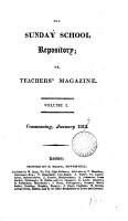 Sunday School Teachers  Magazine  and Journal of Education PDF