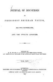 Journal of Discourses: Volume 14