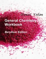 General Chemistry Workbook PDF