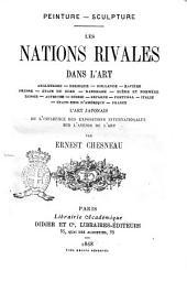 Les nations rivales dans l'art Angleterre, Belgique, Hollande ... par Ernest Chesnau