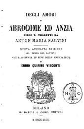 Abrocome ed Anzia