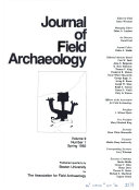 Download Journal of Field Archaeology Book