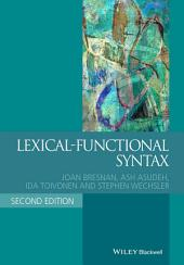 Lexical-Functional Syntax: Edition 2