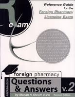 Reference Guide For Foreign Pharmacy Licensing Exam Questions   Answers  FPGEE  PDF
