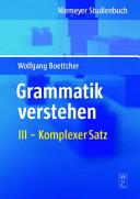 Grammatik verstehen PDF