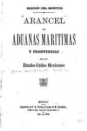 Arancel de aduanas marítimas y fronterizas de los Estados-Unidos Mexicanos