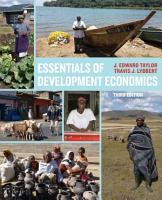 Essentials of Development Economics  Third Edition PDF