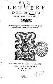 Lettere del Mutio Iustinopolitano
