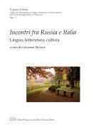 Incontri fra Russia e Italia  Lingua  letteratura  cultura