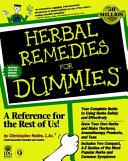 Herbal Remedies For Dummies PDF