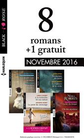 8 romans Black Rose + 1 réédité (no406 à 409 - Novembre 2016)