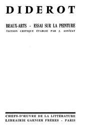 Œuvres complètes de Diderot: comprenant ce qui a été publié à diverses époques et tous les manuscrits inédits conservés à la Bibliothèque de l'Ermitage : revues sur les éditions originales, Volume10