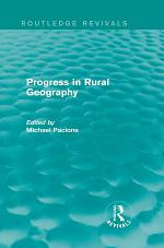 Progress in Rural Geography (Routledge Revivals)