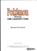 Pok  mon Unofficial Card Collector s Guide PDF