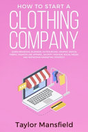 How to Start a Clothing Company PDF