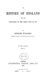 A history of England, from the conclusion of the great war in 1815 [to 1858].